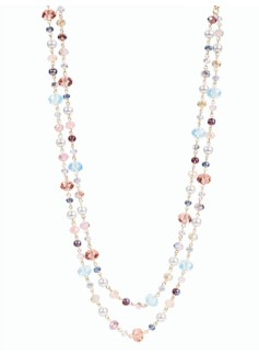 Double-Strand Bead Necklace