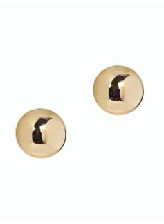 Gold Domed Earring