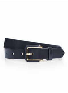Woman Polished Leather Belt