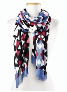 Geometric-Triangle Scarf