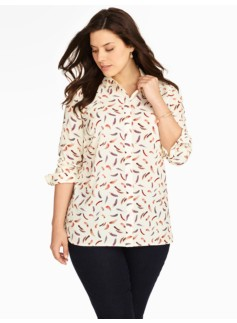 Floating Feathers Shirt