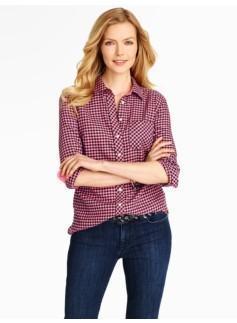 Gingham Checks Cotton Shirt