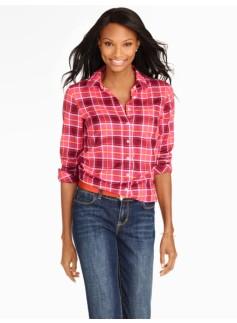 Tartan-Plaid Shirt
