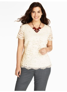 Amherst Lace Top