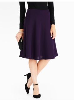 Seasonless Crepe Full Skirt