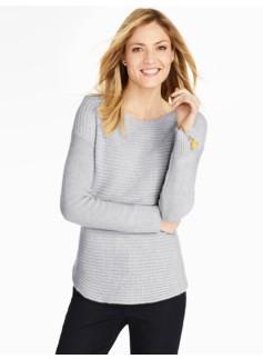 Cashmere Drop-Shoulder Sweater