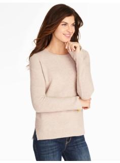 Cashmere High-Low Hem Sweater
