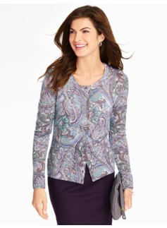 Bloomsberry Paisley Charming Cardigan