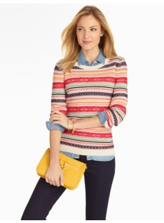 Breton Fair Isle Sweater