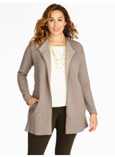 Merino Sweater Coat