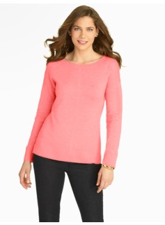 Merino Ballet-Neck Sweater