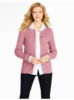 Cable Charming Cardigan