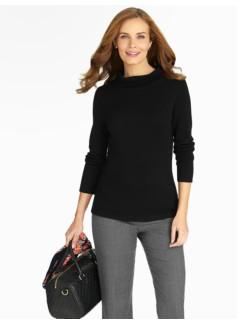 Merino Sabrina-Neck Sweater