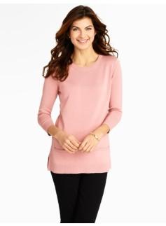 Zip-Back Sweater