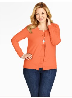 Jersey Stitched Charming Cardigan