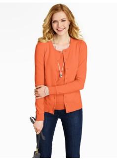 Jersey Stitched Charming Cardigan