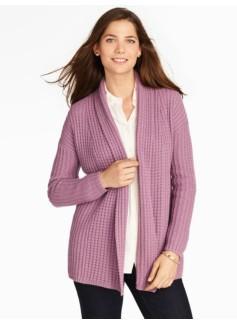 Cashmere Shawl-Collar Sweater