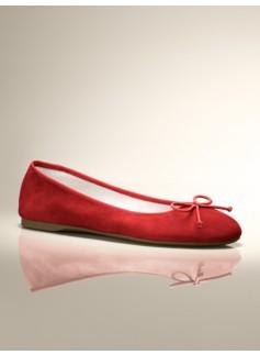 Jilly Suede Ballet Flats