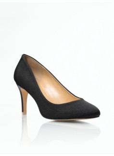 Nori Faille High-Heel Pumps