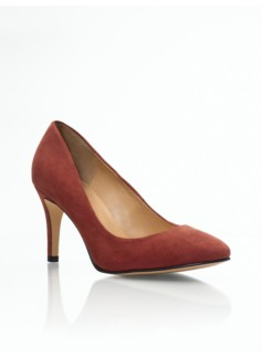 Nori Suede High-Heel Pumps