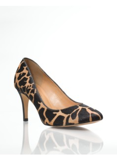Nori Giraffe Haircalf High-Heel Pumps