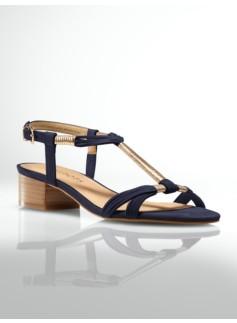 Peyton Flexible Wrap-Strap Sandals