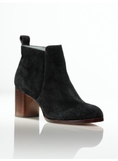 Willa Silk Suede Ankle Boots