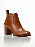 Willa Soft Leather Ankle Boots