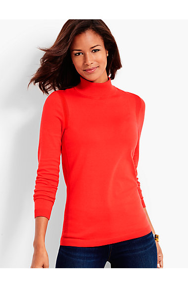 Mock-Turtleneck Sweater | Talbots