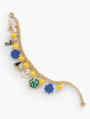 1940s Costume Jewelry: Necklaces, Earrings, Brooch, Bracelets Talbots Womens Driftaway Charm Bracelet $39.99 AT vintagedancer.com