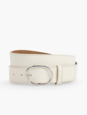 Vintage Wide Belts, Cinch Belts Talbots Womens Pebble Leather Belt $27.99 AT vintagedancer.com
