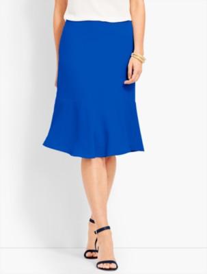 Retro Skirts: Vintage, Pencil, Circle, & Plus Sizes Talbots Womens Seasonless Crepe Skirt $99.00 AT vintagedancer.com