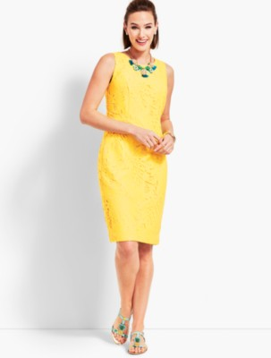 Leaf Lace Sheath Dress Added To Ping Bag