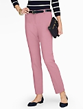 Talbots Hampshire Ankle Pant  - Double Crepe