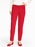 Talbots Hampshire Ankle Pant - Curvy/Double Crepe
