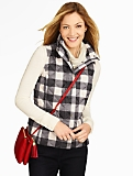 Buffalo Plaid Puffer Vest
