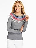 Heart-Yoke Sweater
