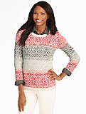 Ombre Fair Isle Sweater