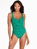 Barcelo Gingham-Checks Miraclesuit�
