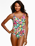 Tankini Top - Block Party Floral