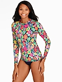 Miraclesuit� Block Party Floral Swim Top