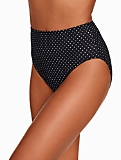 Miraclesuit� Swim Briefs - Pin Dot