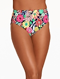 Swim Briefs - Block Party Floral