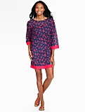 Cherry Bomb Sleeve Tunic Cover-Up