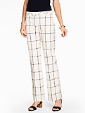 Talbots Windsor Pant-Windowpane Plaid