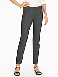 Talbots Hampshire Ankle Pant-Tiny Checks