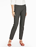 Talbots Hampshire Ankle Pant -Curvy/Tiny Checks