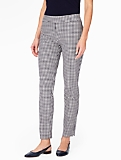 Talbots Chatham Ankle Pant - Curvy/Gingham Checks