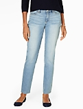 The Flawless Five-Pocket Ankle Jean - Curvy/Dodger Wash