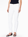 The Flawless Five-Pocket Straight Leg Jean - Curvy/White